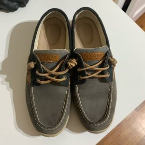 Sperry loafers.